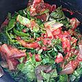 Côtes de blette à la tomate