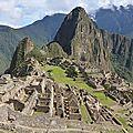 17- Machu Picchu : trajet et visite