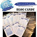 Blog candy concours demin tampons