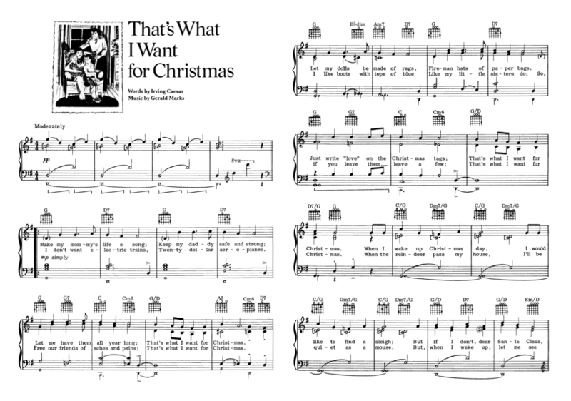 That's What I Want for Christmas 01