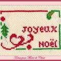 Échange ATC (Noël) Chez Véro Tortue pour Marie de Clessé 1