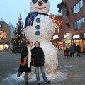 Les supers bonhommes de neige !