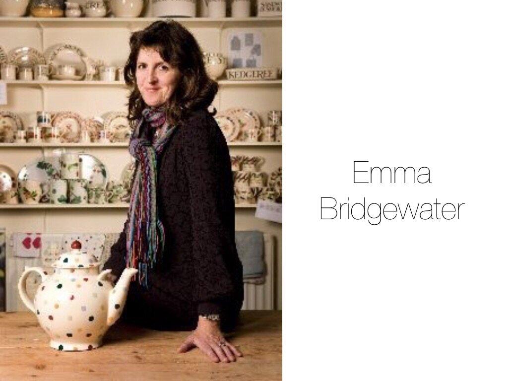 L'univers d'Emma Bridgewater pour sanderson💓💓
