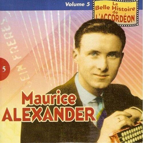pochette disque maurice alexander