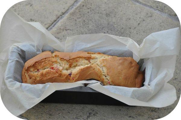 Cake aux cerises 3