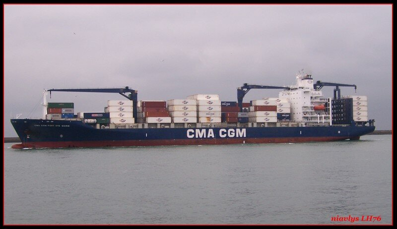 Cma Cgm Fort Ste Marie