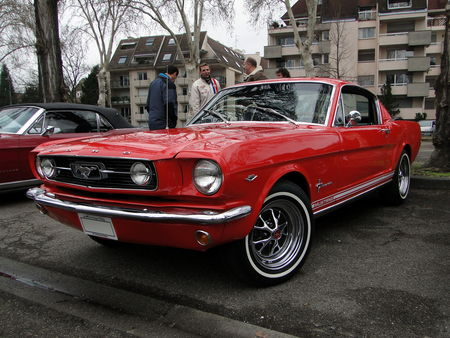 FORD Mustang 2+2 Fastback Coupe 1966 Retrorencard 1