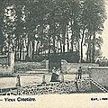 Carte postale Cuesmes - Vieux Cimetière