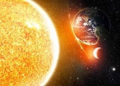 Astre-Soleil-Terre