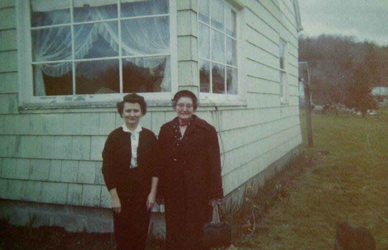 1959 septembre Delphine et Marie-Jeanne BARRE