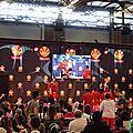 Démonstration arts japonais sur scène