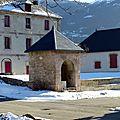 Le puits de la caserne binot, place forte de mont-dauphin (guillestrois)