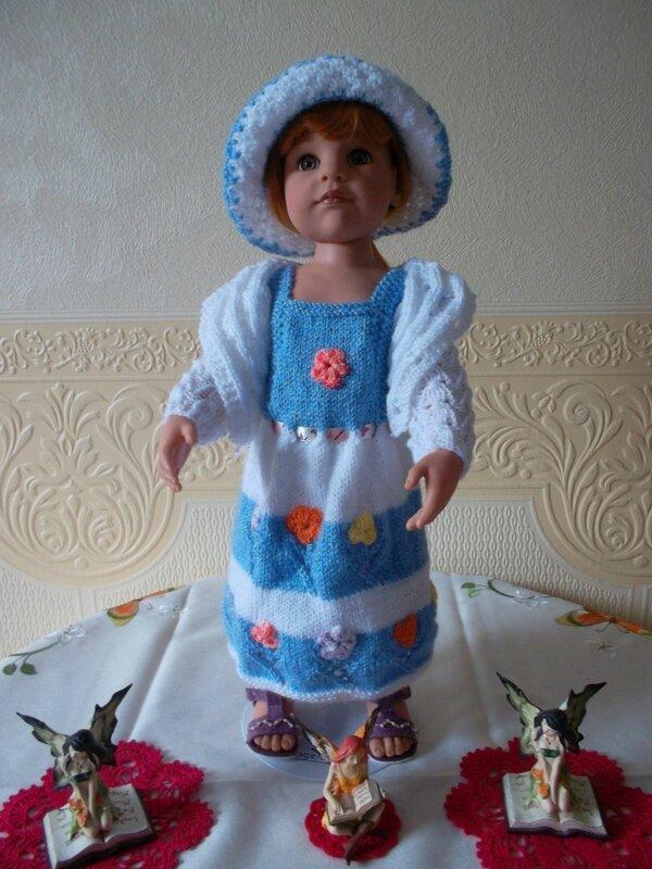 Ingrid & sa jolie robe défi de Nadia & Nathale