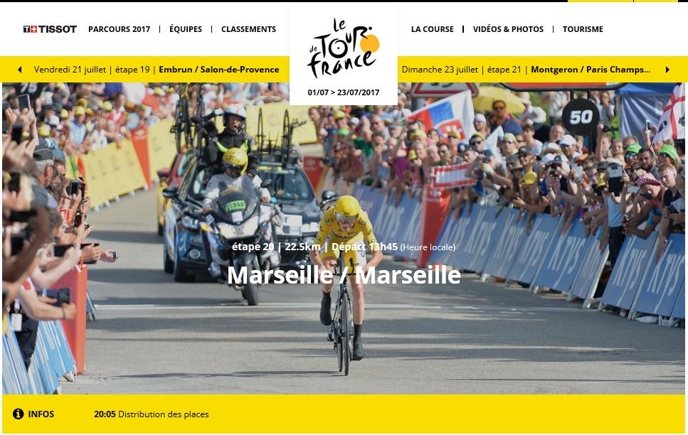 Tour De France 2017 Etape 20 Bienvenue Chez Le Veteran