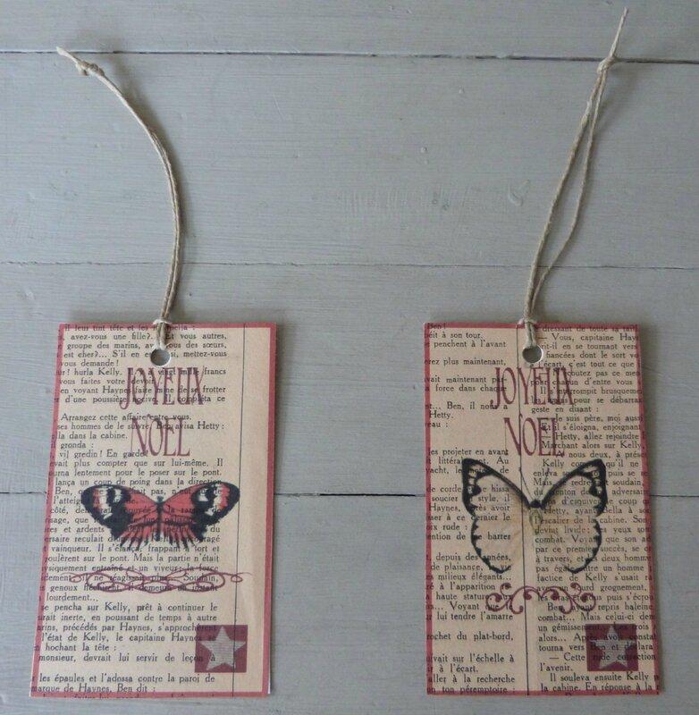 Etiquettes Joyeux Noel Papillons (82)
