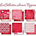 Gamme papier Collection Amour Toujours Toga