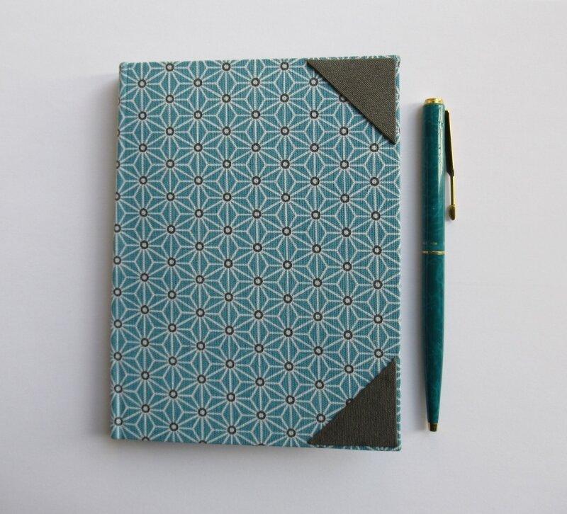 Porte bloc-notes Bleu (1)