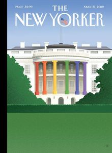 New Yorker Gay marriage cover