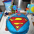 Gateau superman