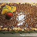 Verger abricot-kiwi