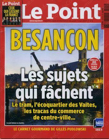 Le Point Besancon 07032013