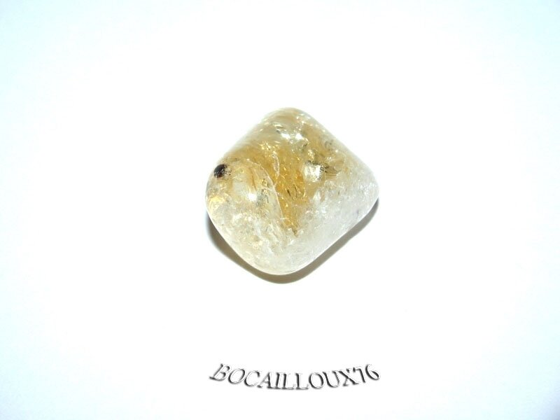 CITRINE 1 Roulé - Pour CREATION - LITHOTHERAPIE