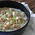 Bouillons de crevettes gingembre-coriandre et nouilles