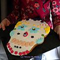 Un biscuit calavera à faire avec les enfants