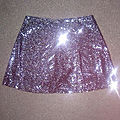 *jupe short disco, t38