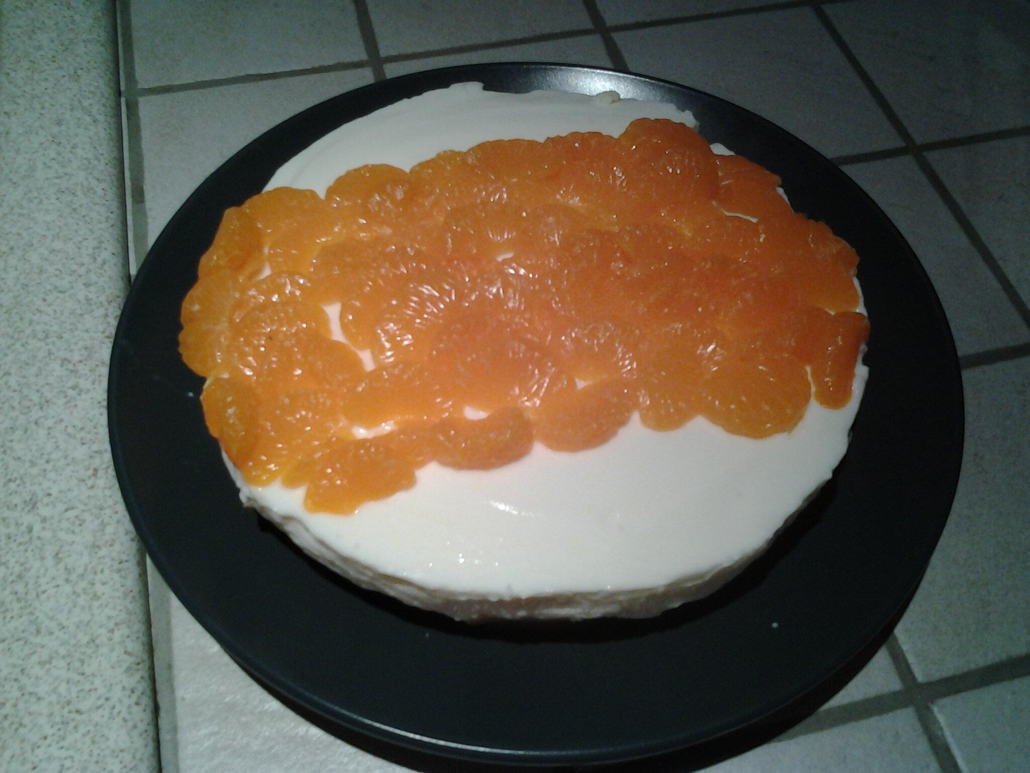 Cheesecake aux mandarines