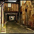 La rue des arceaux