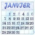 B-mois de janvier-2