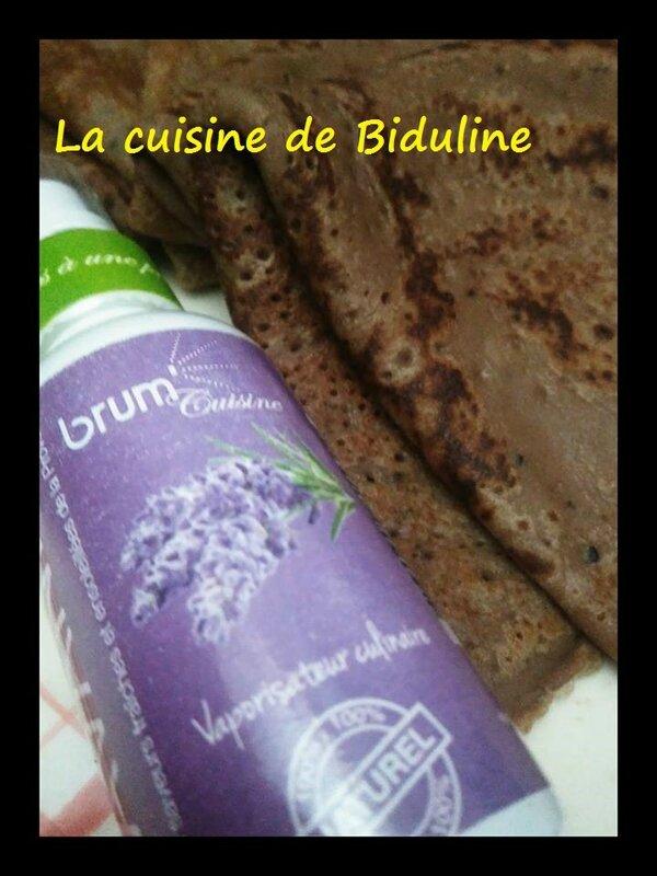 Mes crêpes au chocolat de la Chandeleur saveur Lavande