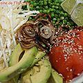 Buddha bowl ou assiette complète