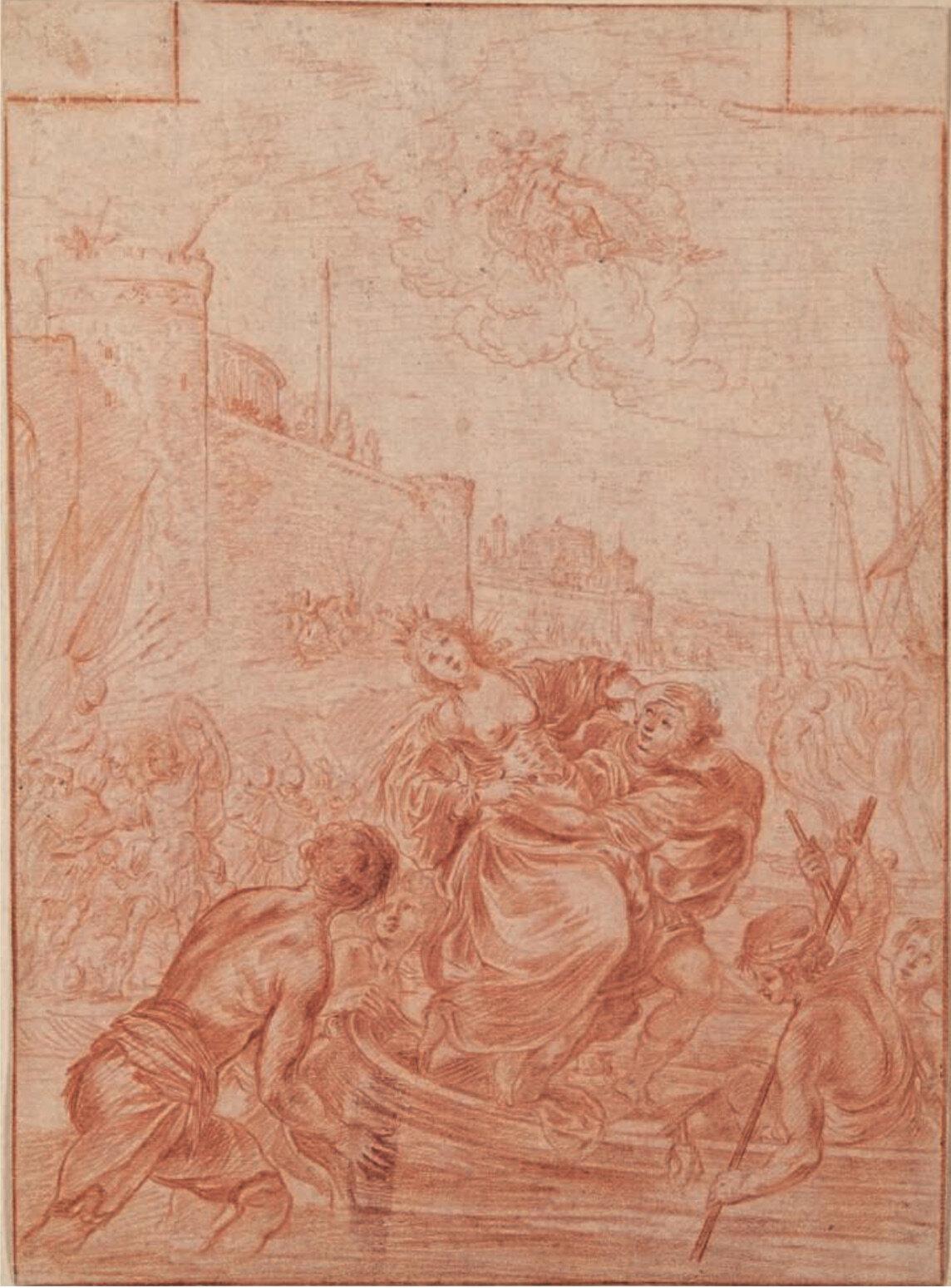 Deux préemptions de la Bibliothèque nationale de France à la vente de dessins Christie's