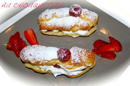ECLAIR CHANTILLY FRUITES ROUGES 5