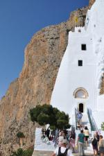 167 AMORGOS_ Monastère Hozoviotissa