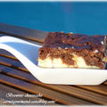 Brownie cheesecake de manue