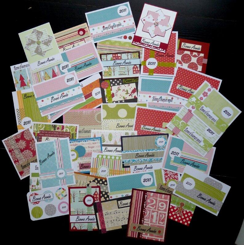 Cartes voeux 2011