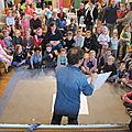 Un public très attentif, de petits et grands