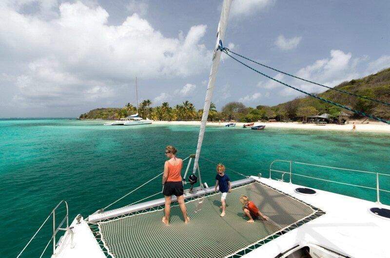 Catamaran Grenadines partie 1-86