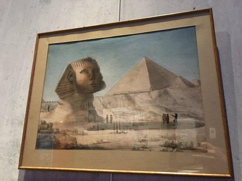 exposition Egypte Scriptorial Avranches 2016 tableau