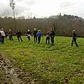 Sortie du 18 décembre 2012 circuit des sentiers des saulières