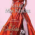 La duchesse des coeurs à tout prix ~~ sally mackenzie