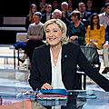 Marine le pen sur europe 1 et cnews le 23/09/2018