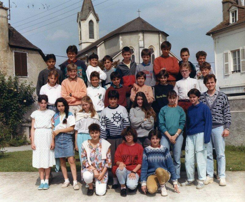 COLLEGE 1986 - 87 5e B084