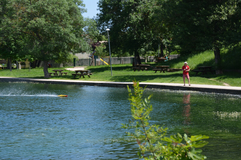 le lac du trophée
