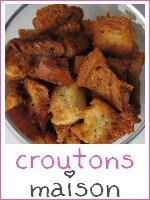 croutons maison - index