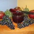 Gelée de raisins et pommes