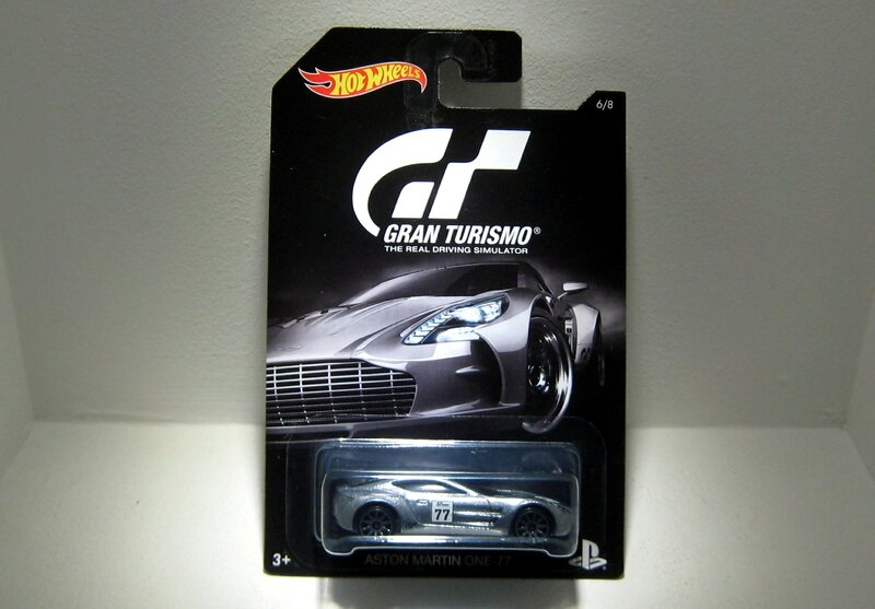 Aston Martin one-77 (Hotwheels 2016)